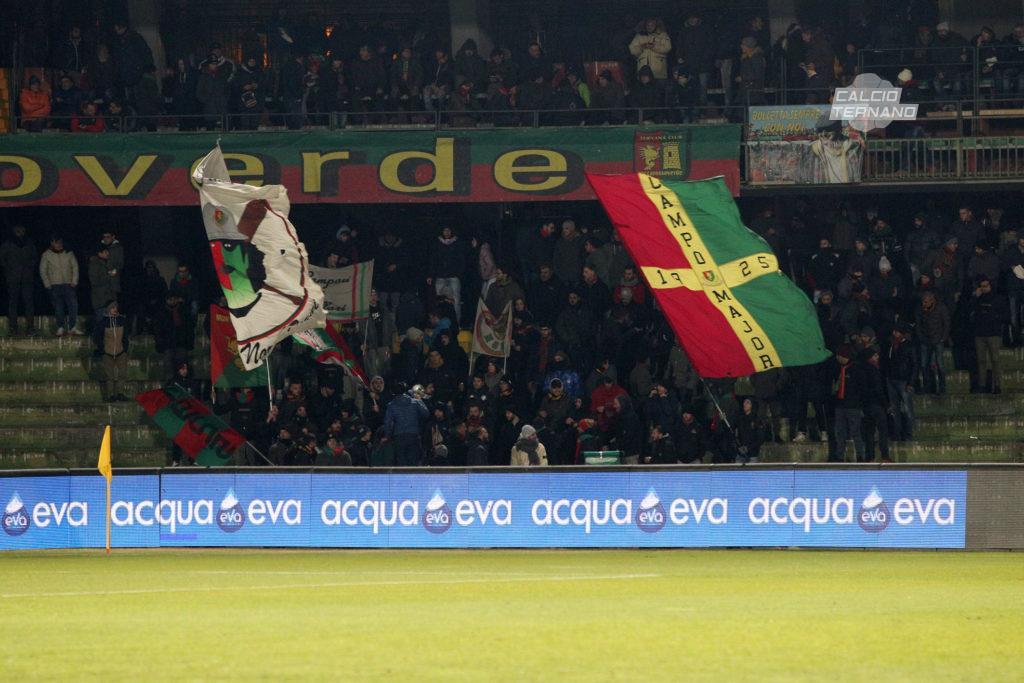 Avellino-Ternana ufficiale, dato prevendita tifosi rossoverdi
