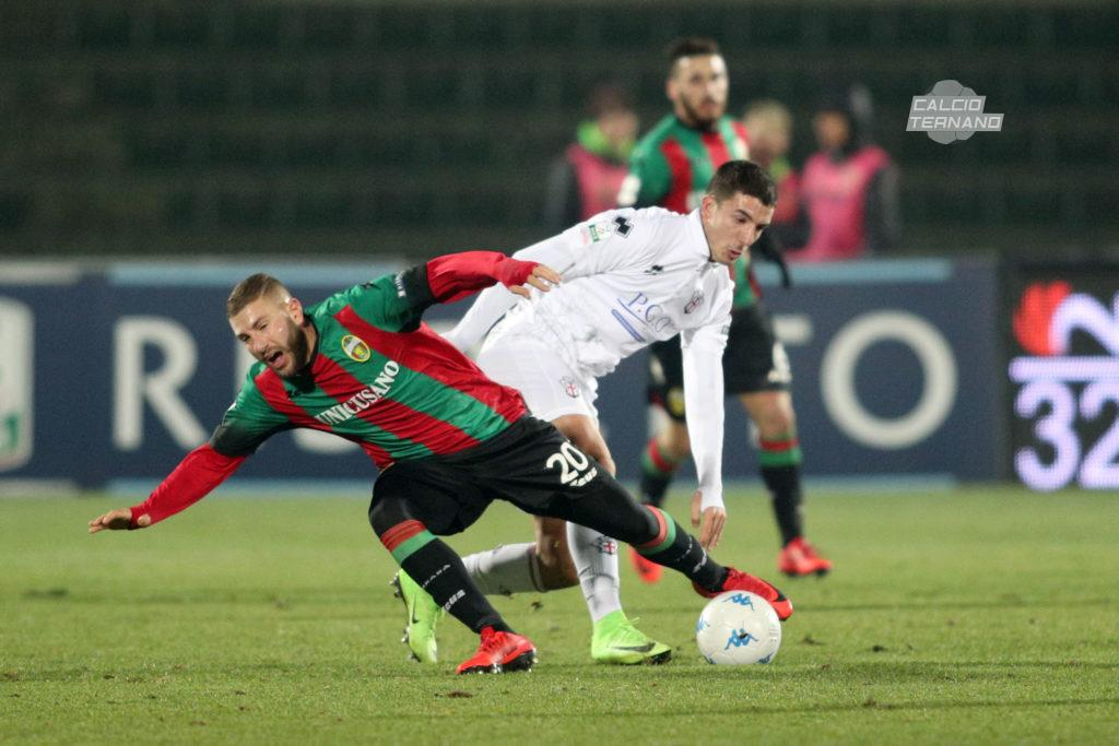 Pro Vercelli-Ternana, con la sconfitta o il pareggio è Serie C