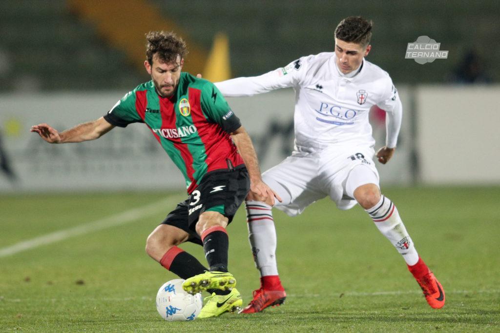 Alessandro Favalli contro la Pro Vercelli