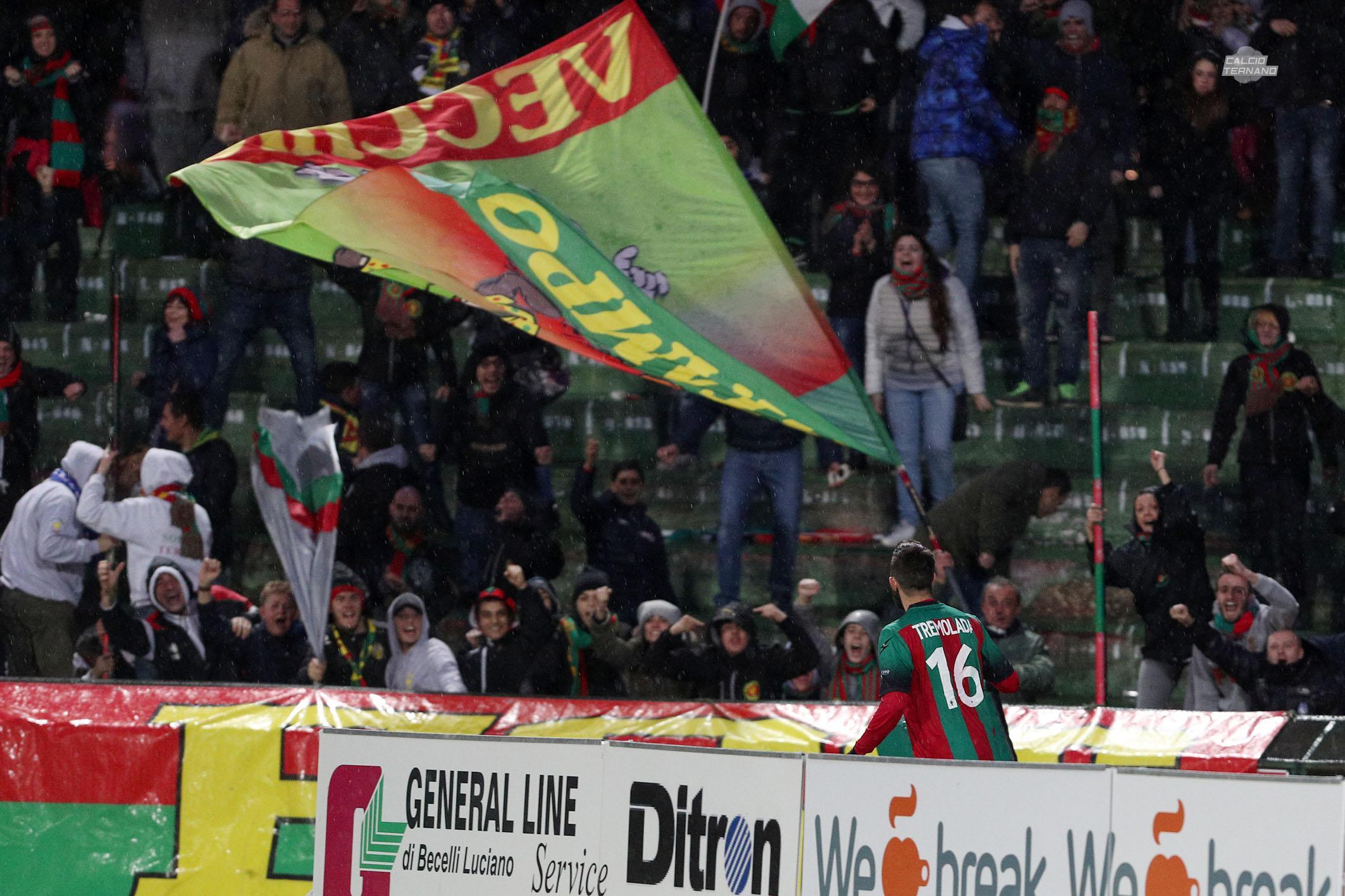 Parma-Ternana, ufficiale il dato dei tifosi rossoverdi al Tardini