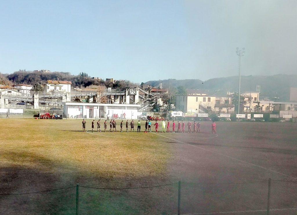 Fabro-Pro Ficulle 1-2, il derby è ancora giallorosso