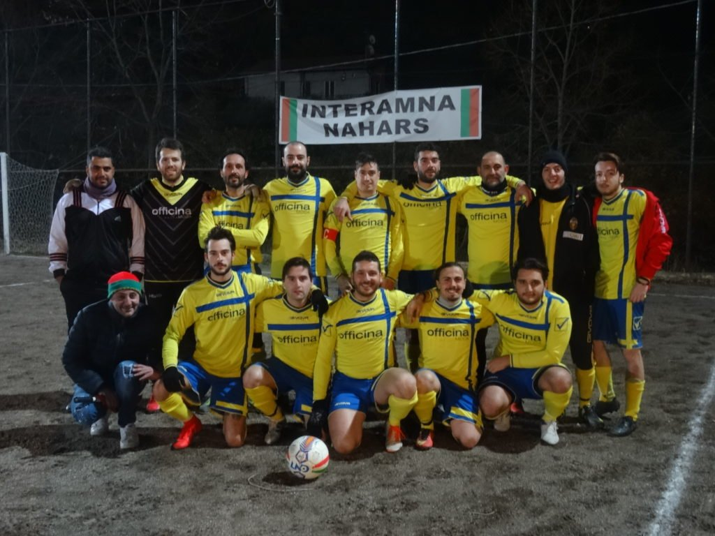 Uisp calcio a 11, nel recupero Acquasparta-Gramsci 1-0