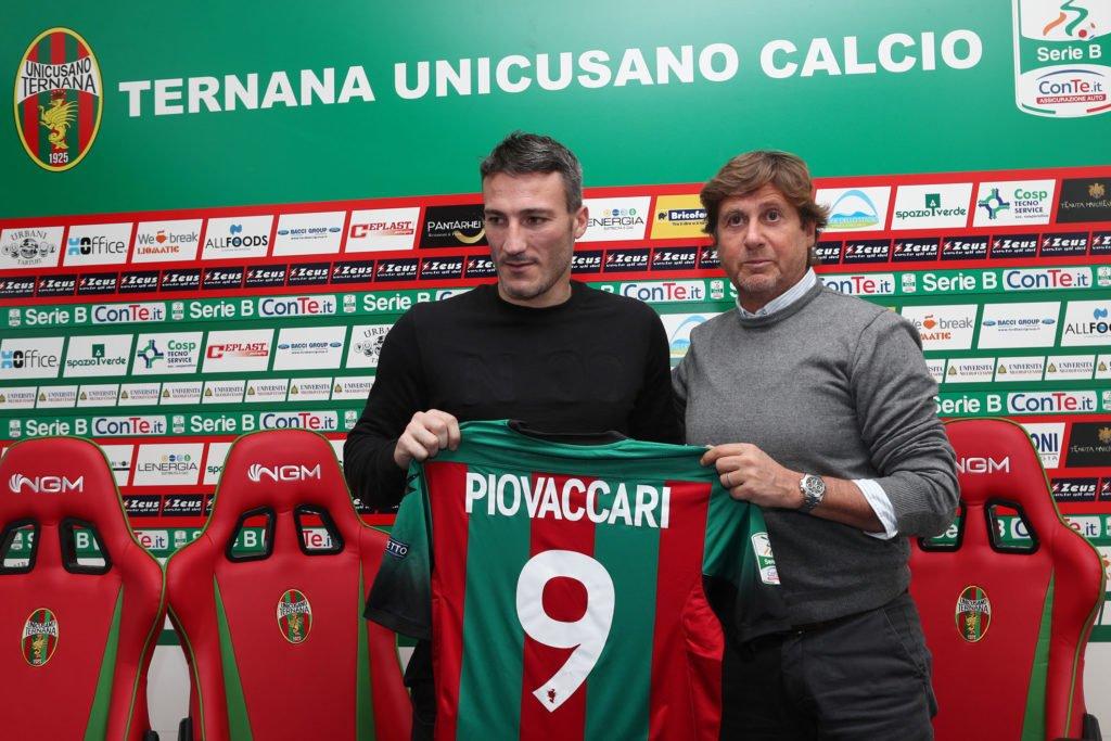 Ternana calcio, Federico Piovaccari il bomber e la Serie C