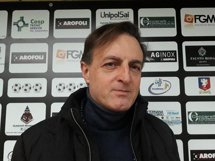 Narnese, Gianluca Gambini 'Stiamo rispettando i nostri tre pilastri'