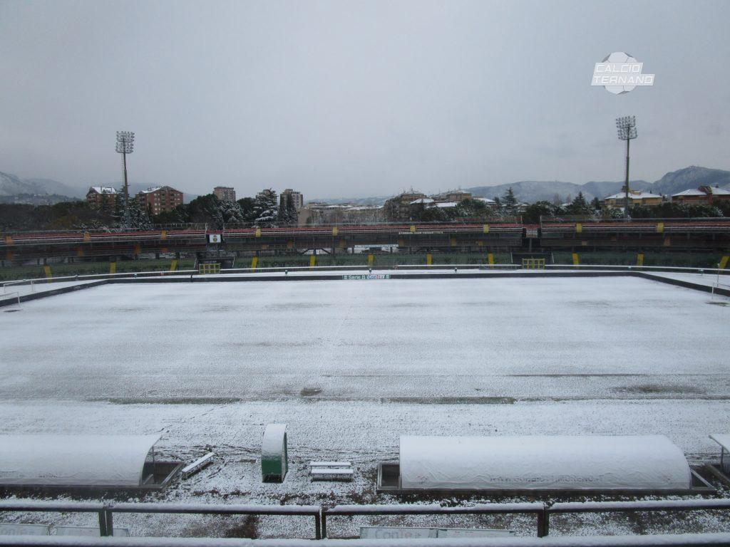 Serie B ufficiale, quarta gara rinviata per neve