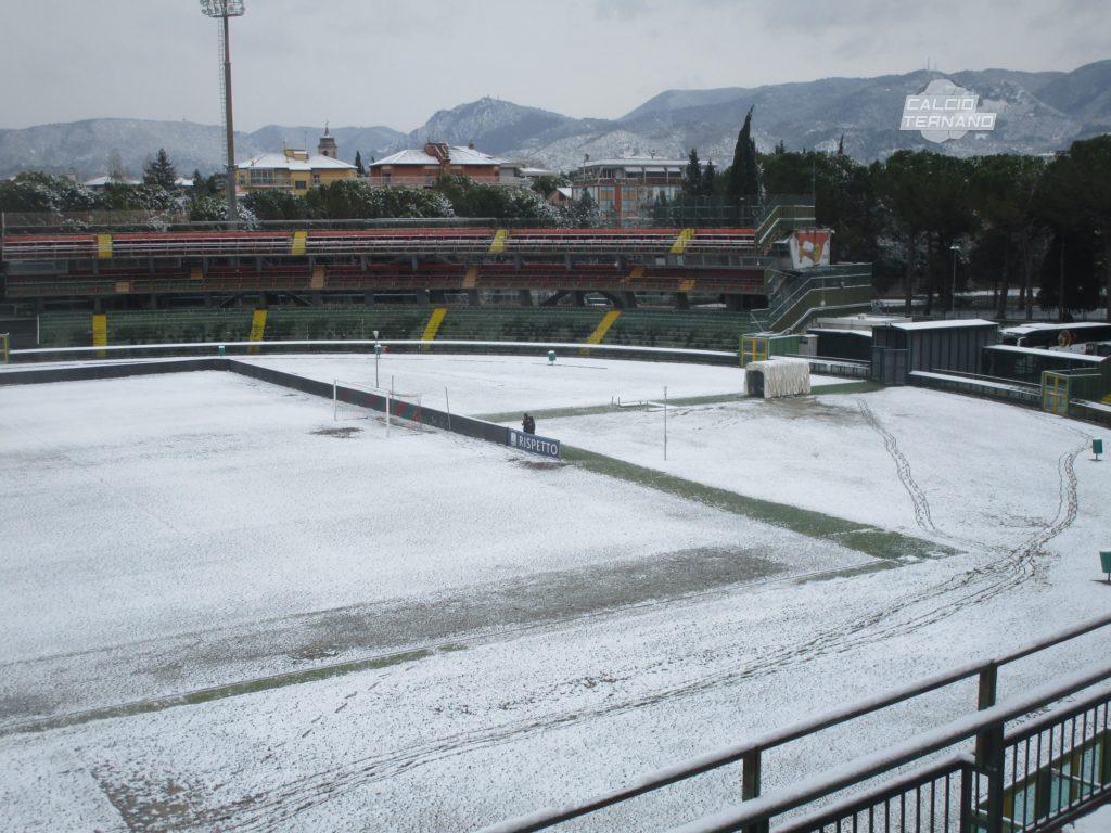 Serie B, due incontri odierni a rischio rinvio