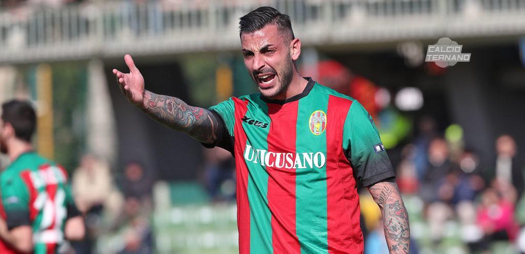 Perugia-Ternana 2-3, Adriano Montalto 'Grazie a tutti voi'
