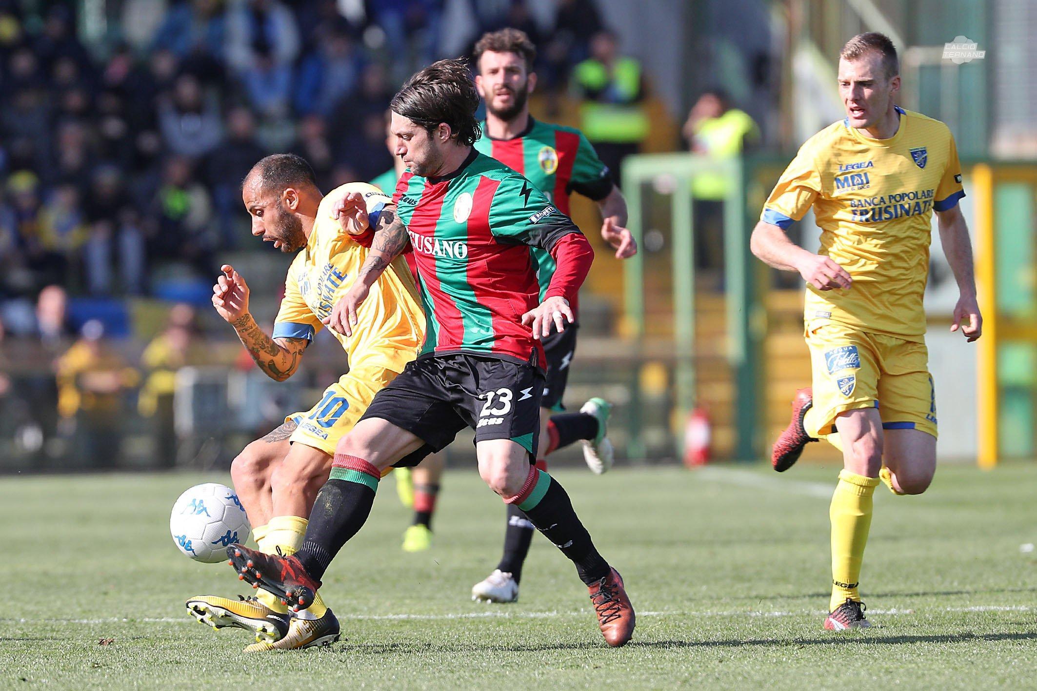Ternana Frosinone Paolucci
