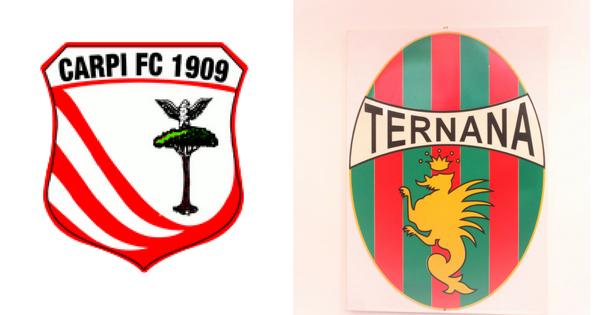 Carpi-Ternana, formazioni ufficiali