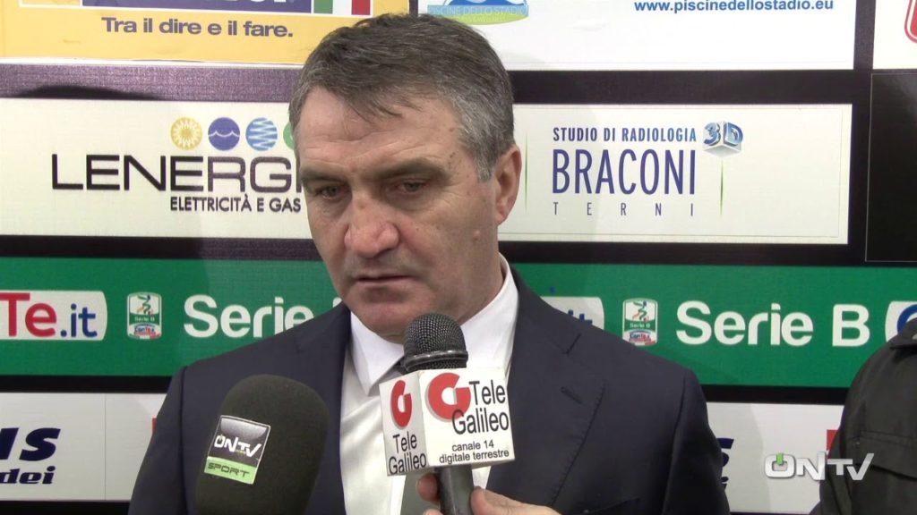 Spezia-Ternana, Luigi De Canio 'Vogliamo giocarci le nostre chances'