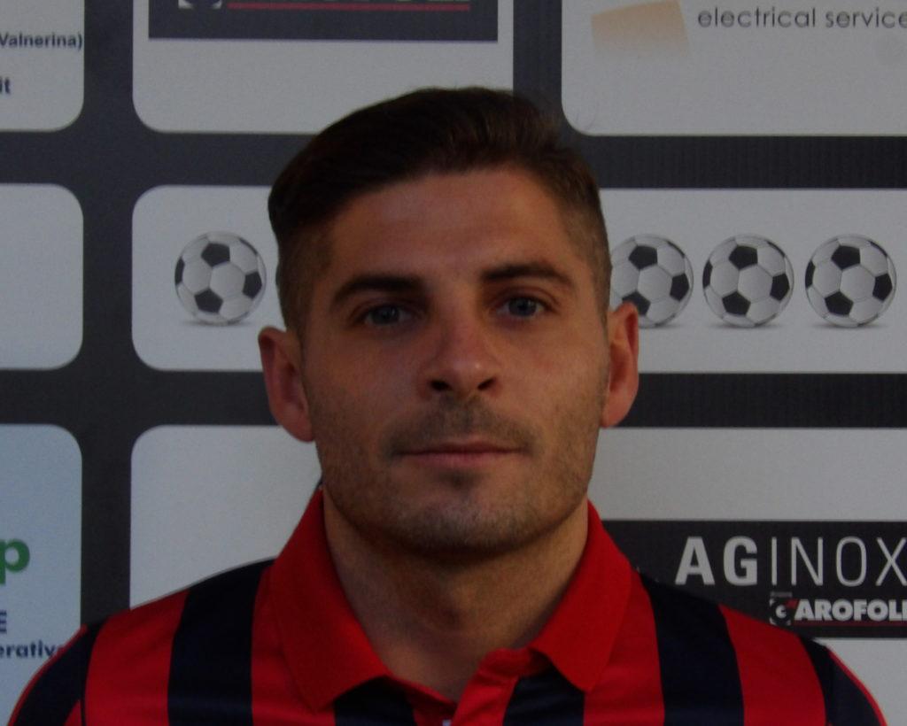"""Narnese, Matteo Silveri: """"Pasquale ci ha fatto una sorpresa schierandosi in porta"""""""