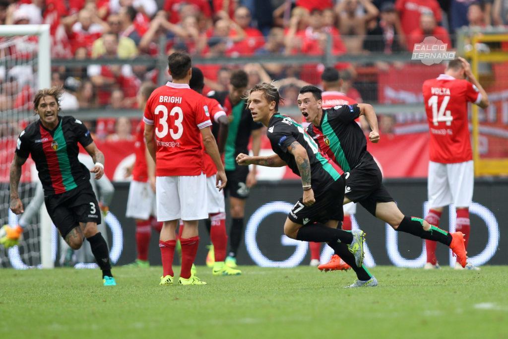 Perugia-Ternana, Cesar Falletti star rossoverde al Curi
