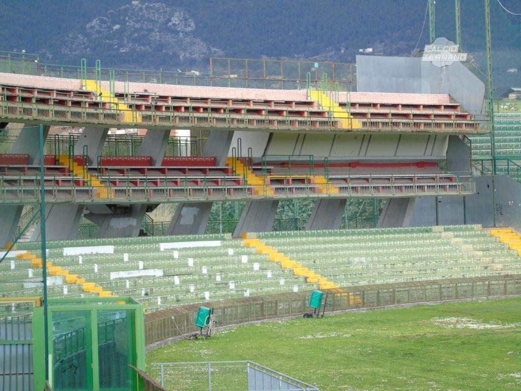 Lega Pro Ternana-Sambenedettese, limitazioni per i tifosi marchigiani