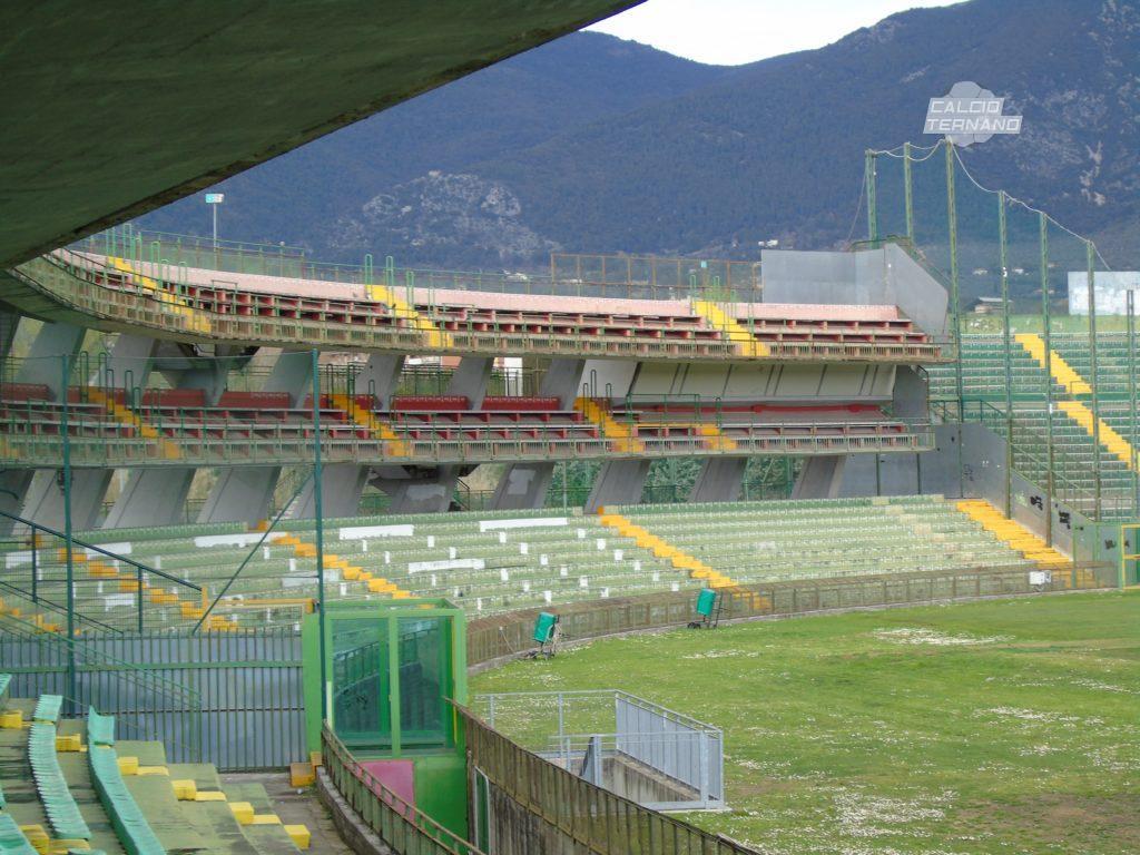 Ternana-Catania, dato parziale biglietti venduti settore ospiti