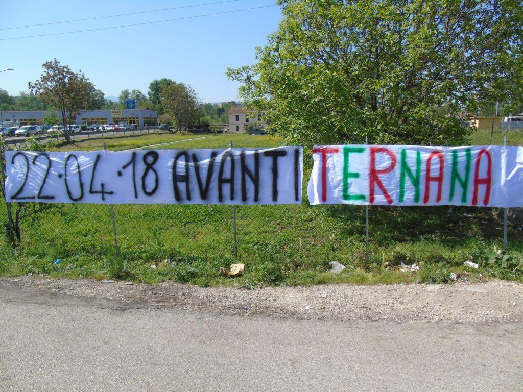 Perugia-Ternana, foto della partenza e dato biglietti rossoverdi