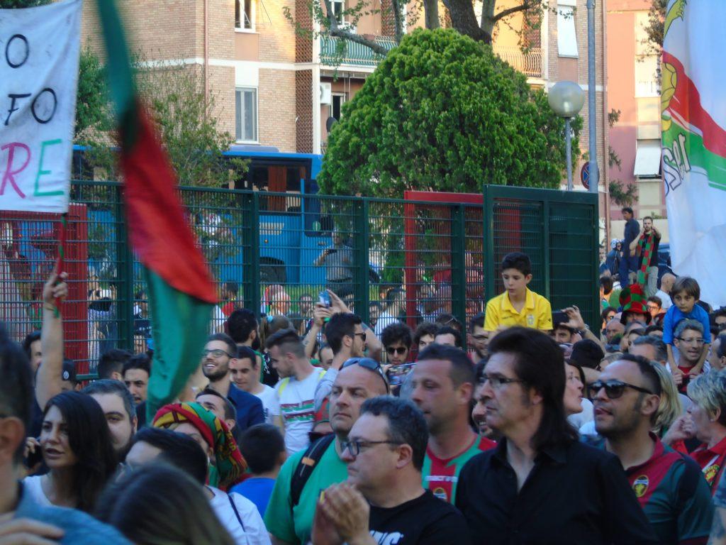 Ternana calcio, record stagionale di tifosi rossoverdi nel mirino