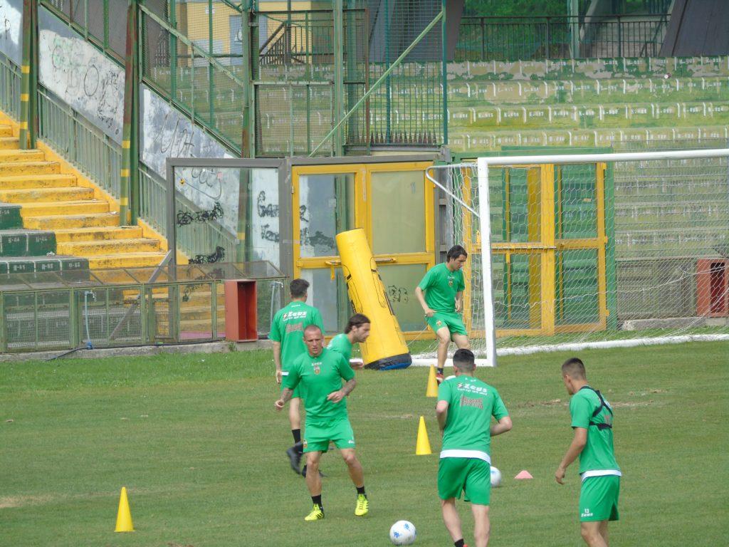 Ternana calcio, allenamento mattutino per i rossoverdi