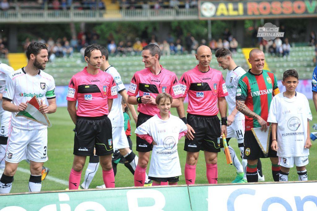 Lega Pro Ternana-Fano, designazione arbitrale