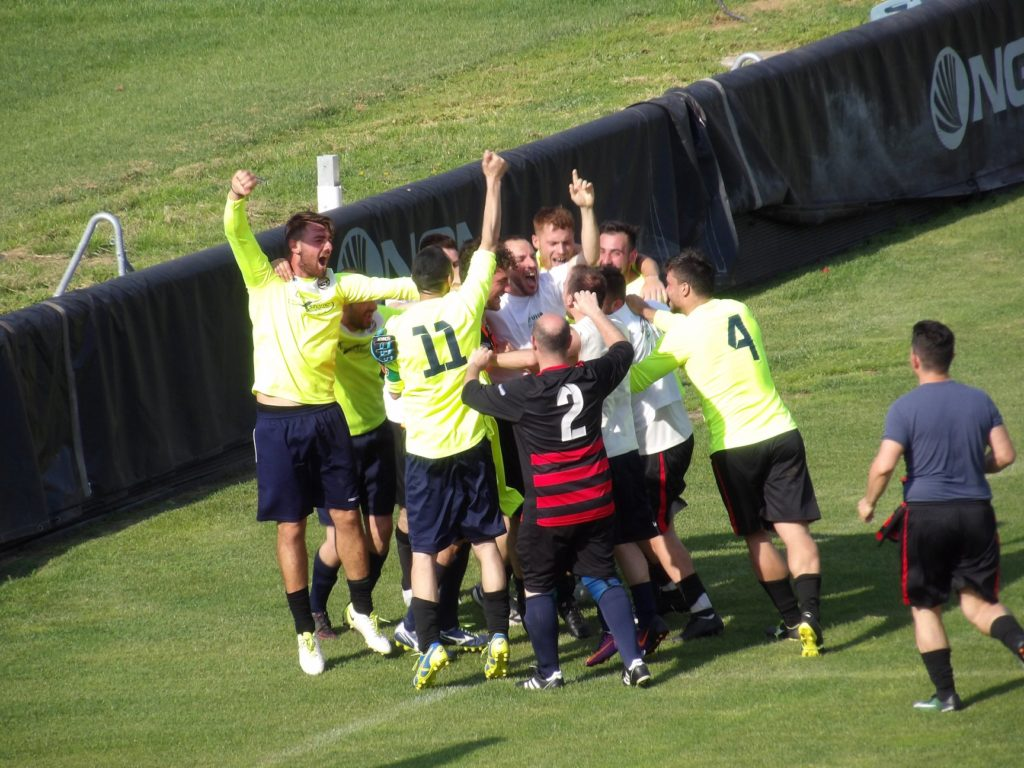 Uisp calcio a 11, la Conca United vince la Supercoppa Disciplina