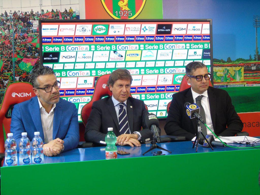 Calciomercato Ternana, il tabellone dei rossoverdi