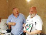 Il Presidente Regionale Paolo Righetti ed Enrico Piersanti