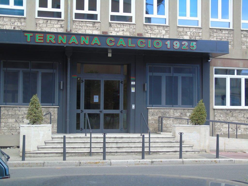 la sede della Ternana calcio
