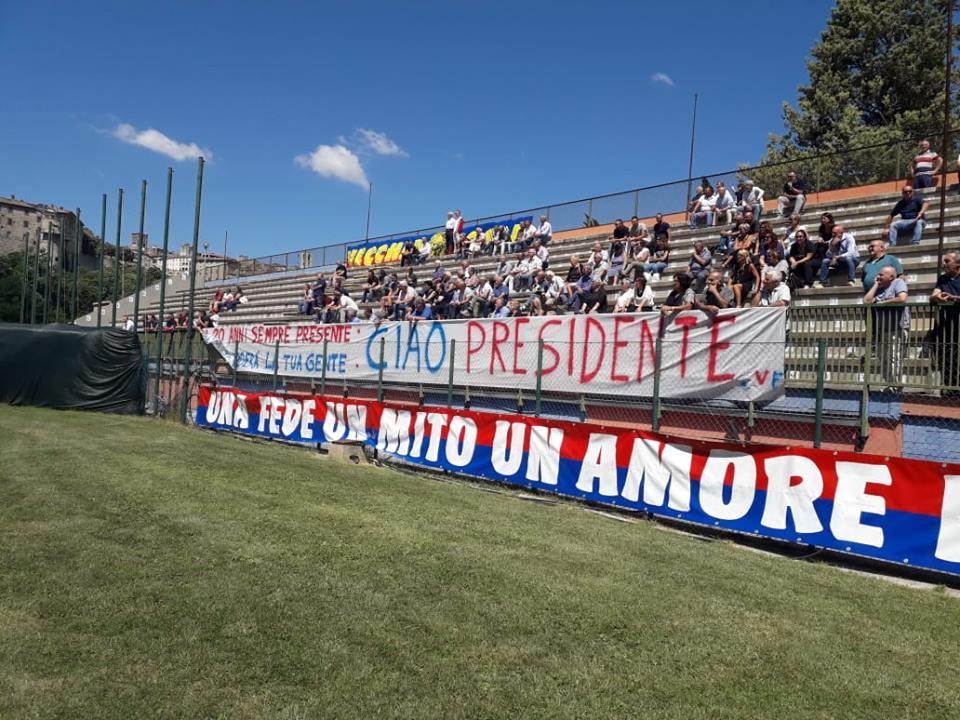 Narnese, il programma dell'intitolazione dello stadio a Moreno Gubbiotti