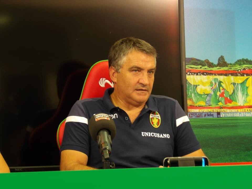 Lega Pro Girone B Triestina-Ternana, Luigi De Canio pre partita