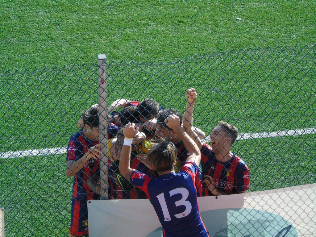 Campitello-Viole 4-0, rossoblù imbattuti e felici