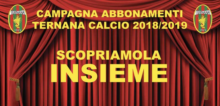Ternana, dato campagna abbonamenti rossoverdi