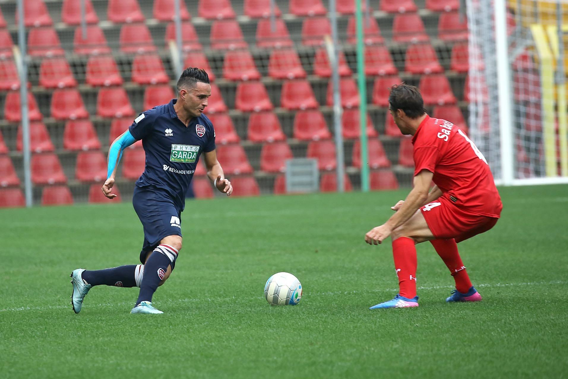 Lega Pro Girone B Virtus Verona-Ternana, volto noto fra i virtussini