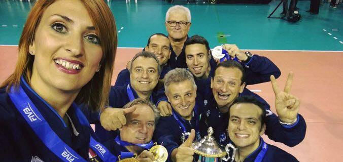 Ternana Femminile, Alessandra Favoriti in finale mondiale con l'Italvolley