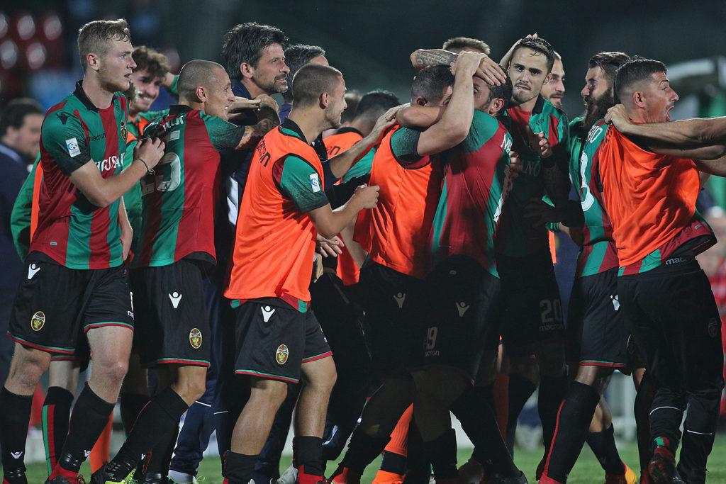 Lega Pro Girone B Fano-Ternana, formazioni ufficiali