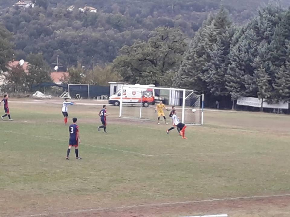 Amerina-Campitello 0-0, emozioni senza gol al Paticchi