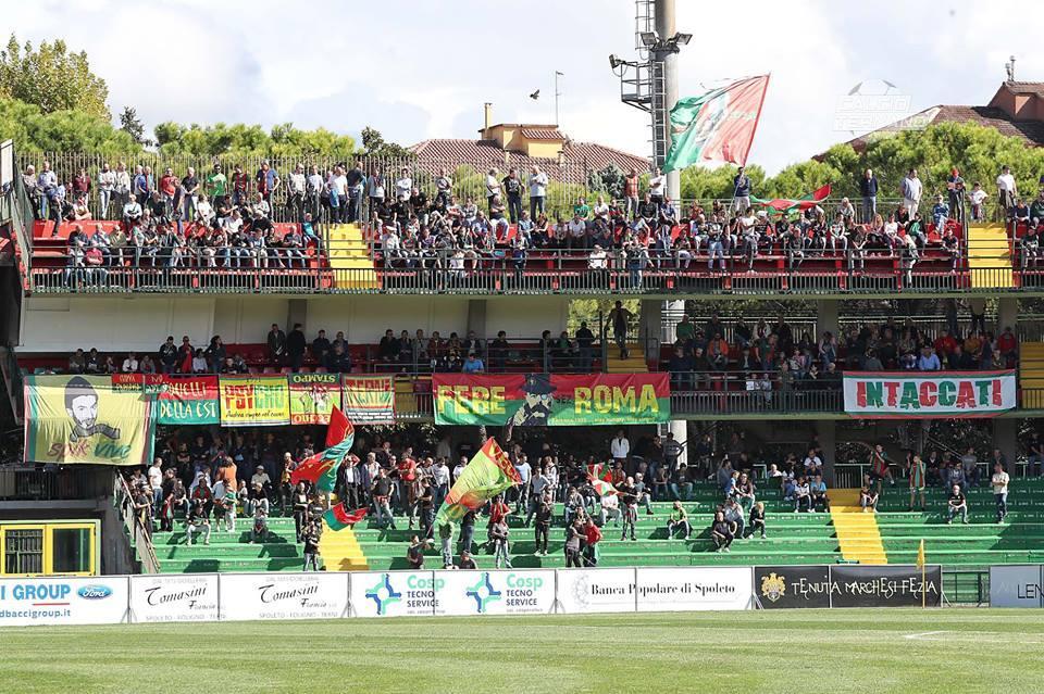 Lega Pro Girone B Ternana-Gubbio, le formazioni ufficiali