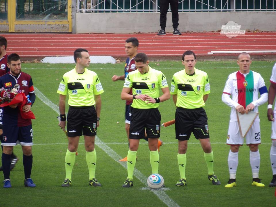 Lega Pro Girone B Ternana-Feralpisalò, l'arbitro del match dei rossoverdi