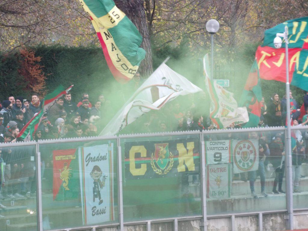 Lega Pro Girone B Imolese-Ternana, la gallery fotografica dei tifosi rossoverdi
