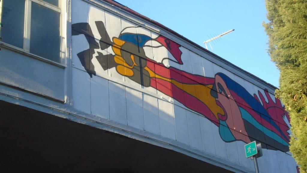 Ternana, i murales del Libero Liberati tornano a splendere