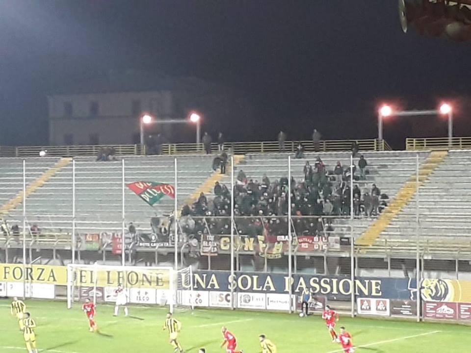 Coppa Italia Lega Pro Viterbese-Ternana, i biglietti venduti nel settore ospiti