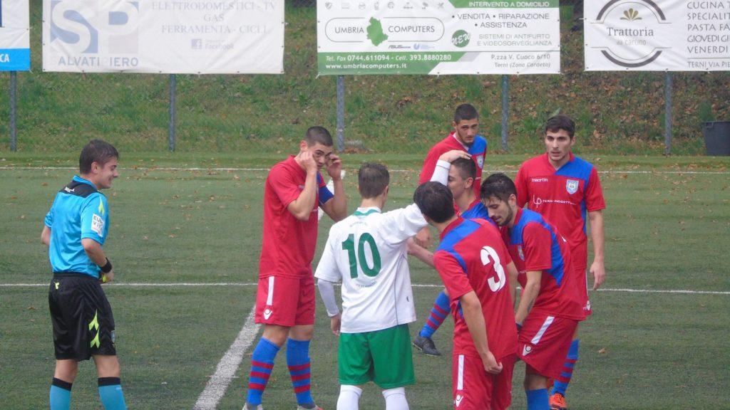 Terni Est Soccer School-Olympia Thyrus 1-1, le pagelle del derby