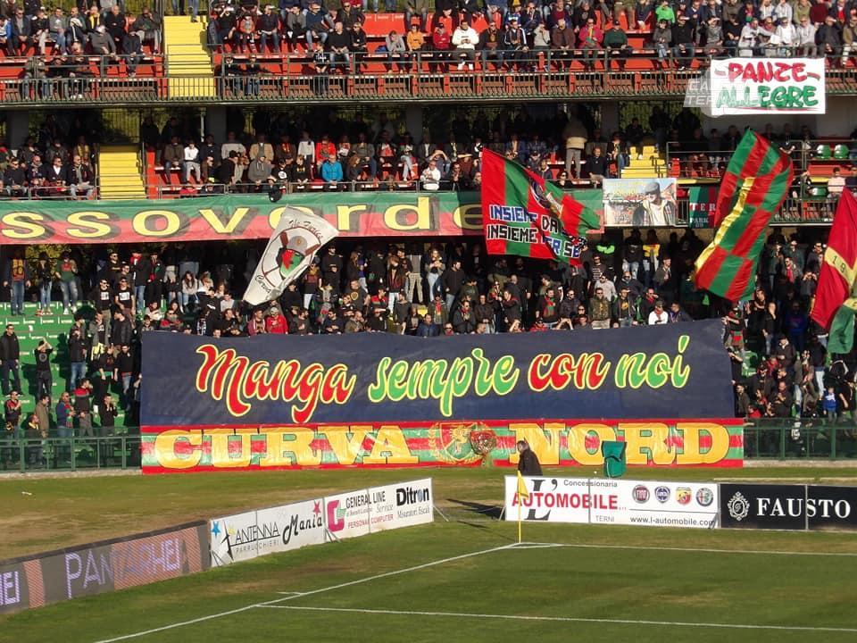 Ternana, tifosi rossoverdi sul podio della Lega Pro Girone B