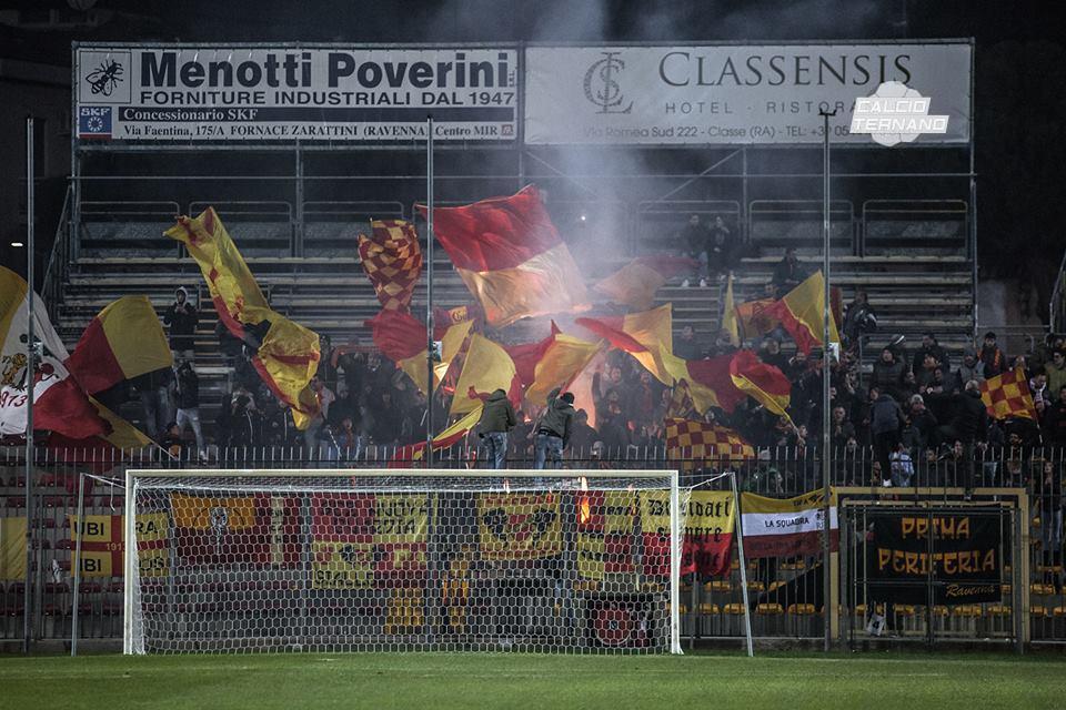 Lega Pro Girone B, Ravenna-Ternana nel nome di Vittorio Mero