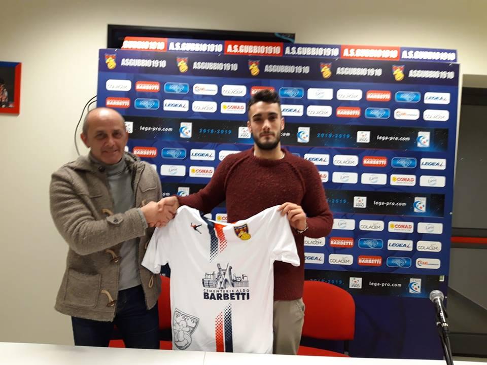 Lega Pro ufficiale, nuovo acquisto per il Gubbio