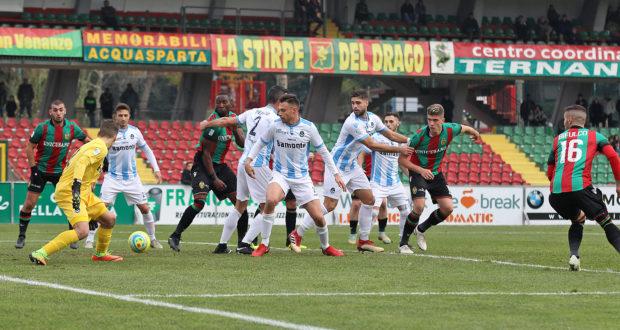 Lega Pro Giana Erminio-Ternana, numeri simili per le due squadre