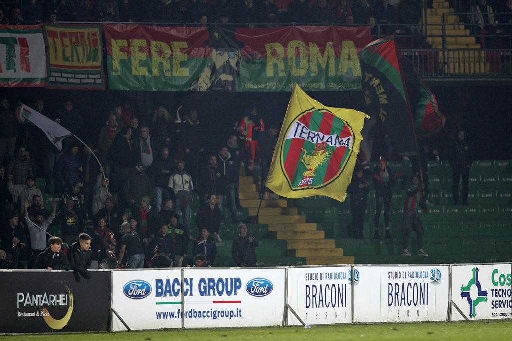 Lega Pro Girone B Ternana-Fermana, la diretta del match