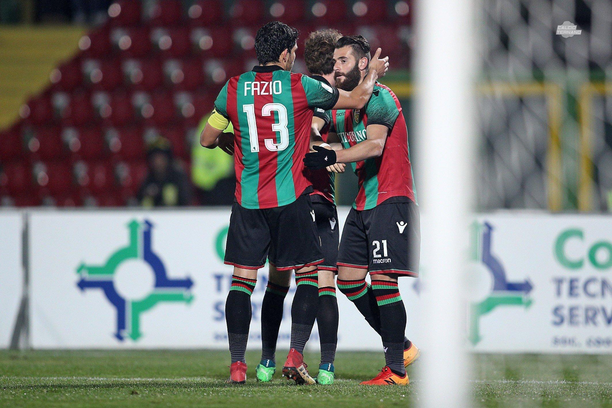 Lega Pro Girone B Ternana-Fermana, probabili formazioni