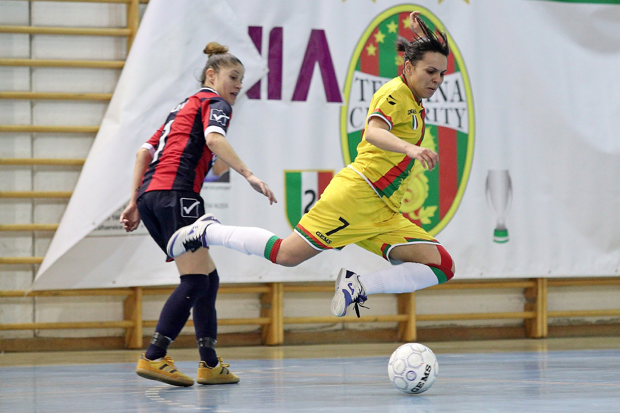 Ternana Celebrity calcio a 5 femminile Serie A Vanessa Pereira