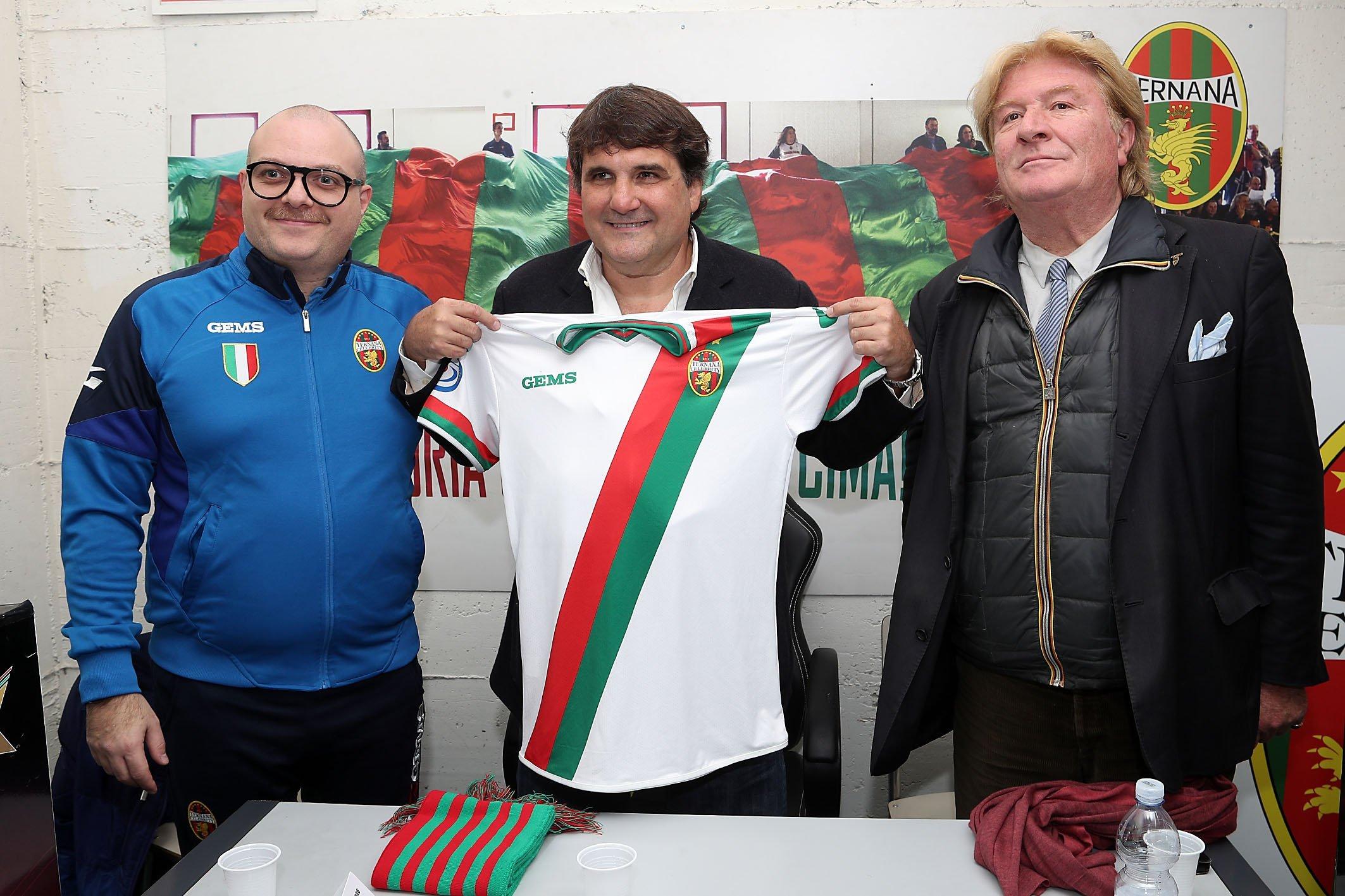 Daniele D'Orto Ternana Celebrity calcio femminile