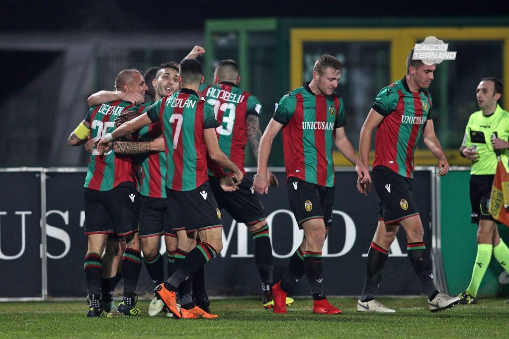 Lega Pro Girone B Rimini-Ternana, si ferma un rossoverde