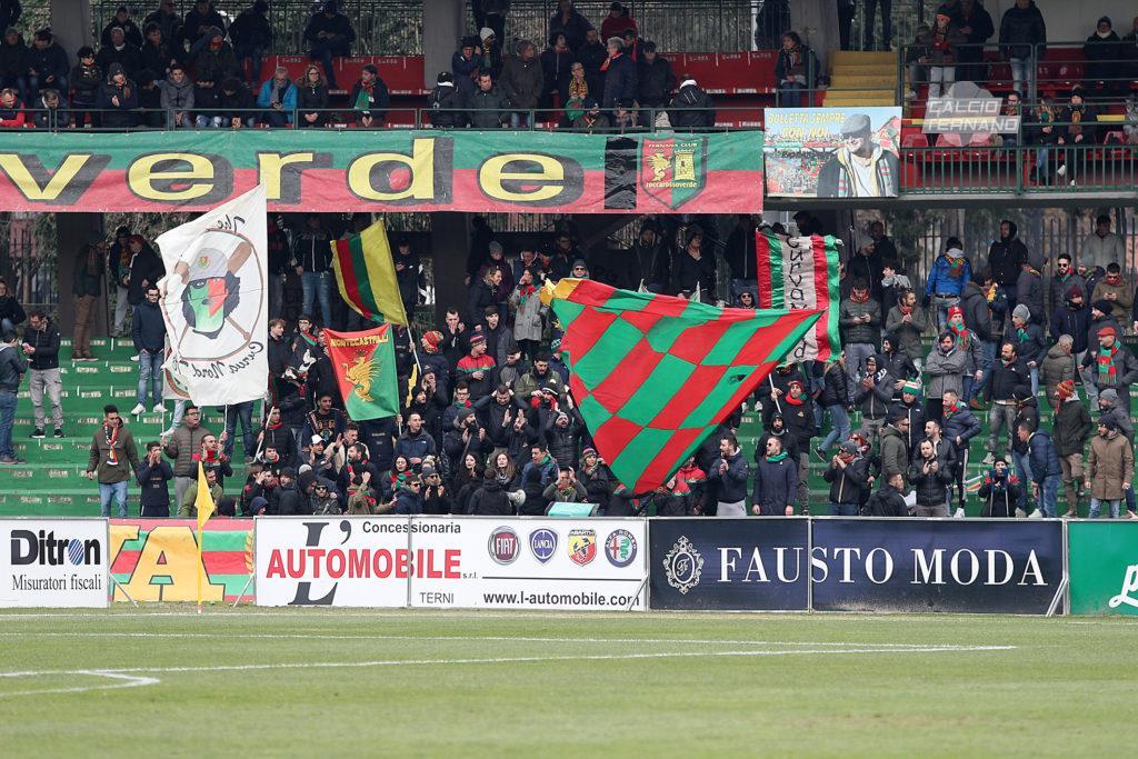 Lega Pro Ternana-Fano, amarcord 'Semo nati pe tribbolà'